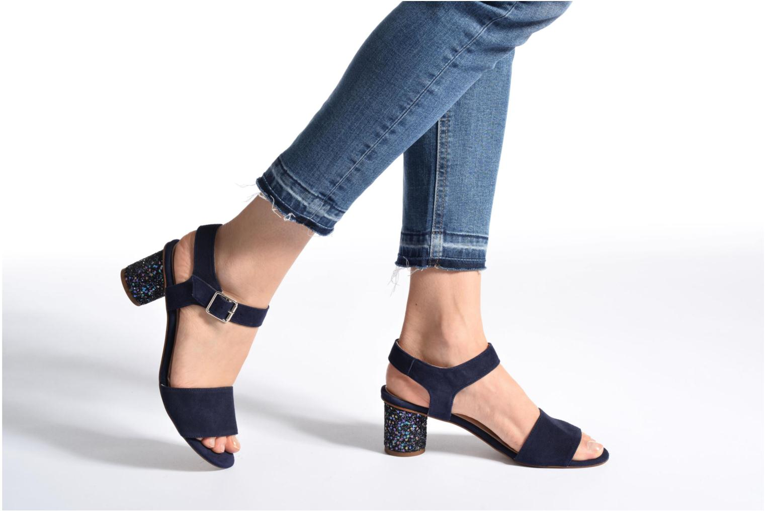 Sandals Georgia Rose Anayette Blue view from underneath / model view