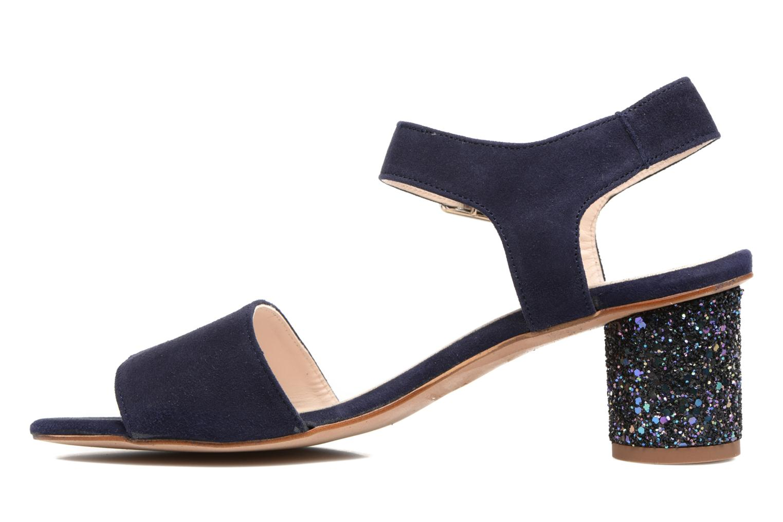 Sandales et nu-pieds Georgia Rose Anayette Bleu vue face