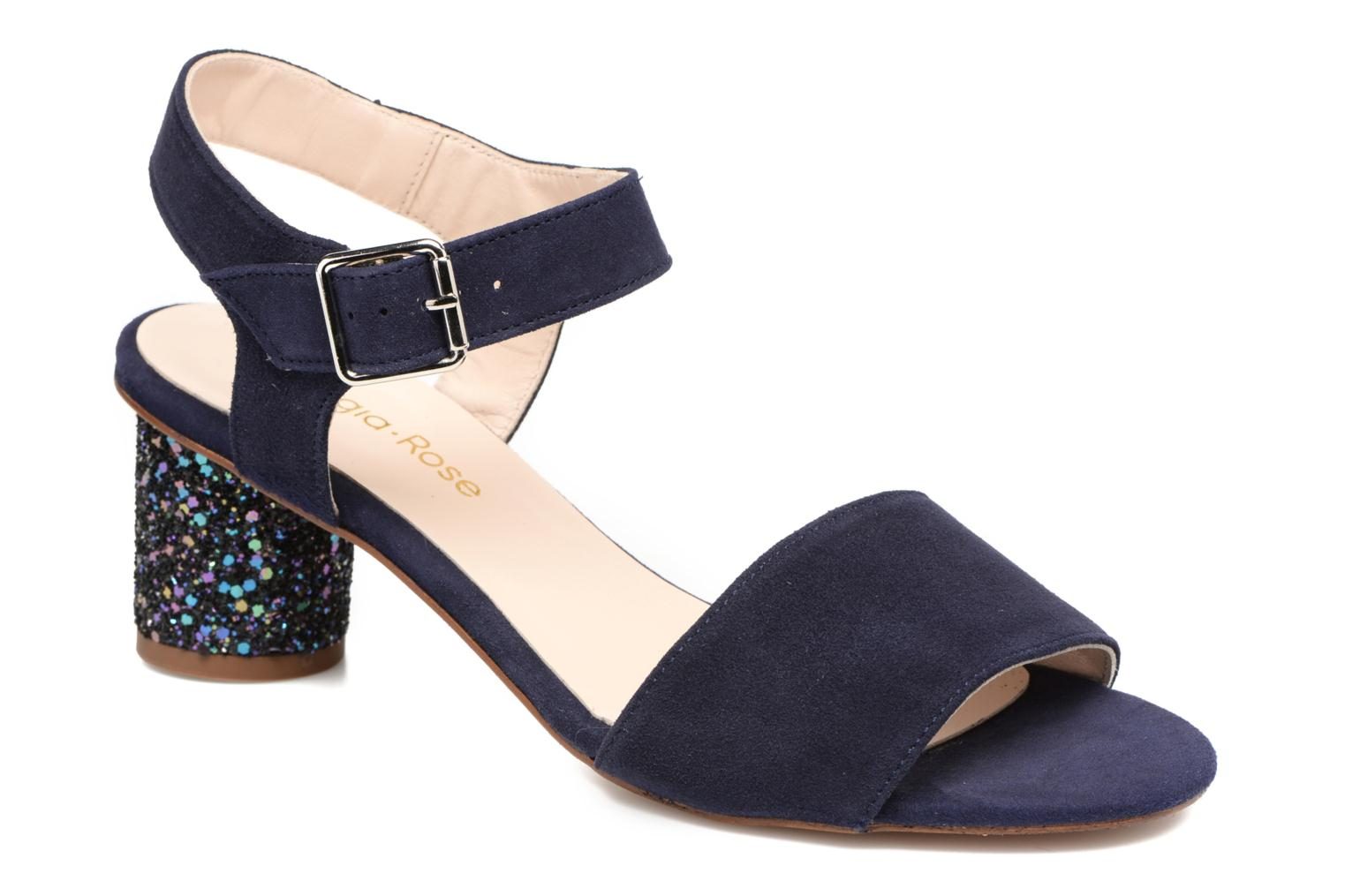 Sandals Georgia Rose Anayette Blue detailed view/ Pair view