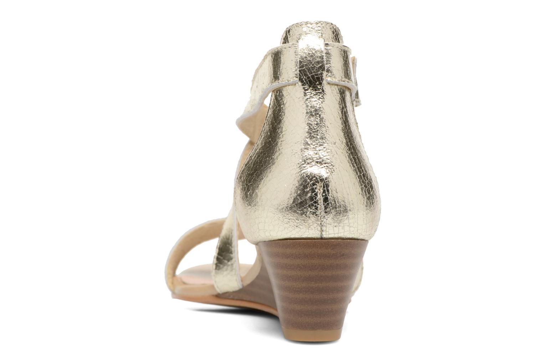 Sandali e scarpe aperte Georgia Rose Anacale Oro e bronzo immagine destra