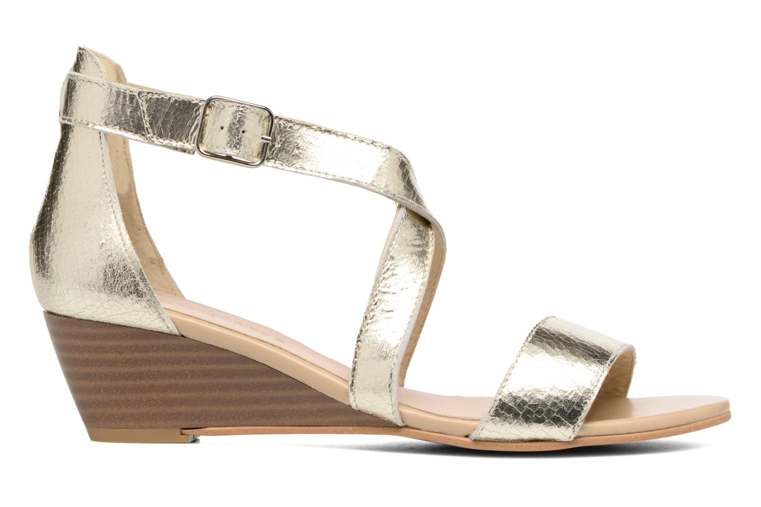 Sandals Georgia Rose Anacale Bronze and Gold back view