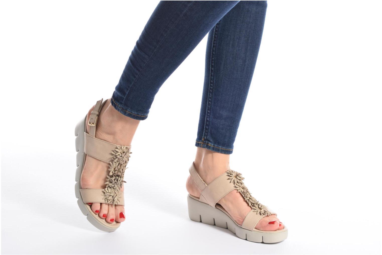 Sandales et nu-pieds The Flexx Emma Beige vue bas / vue portée sac