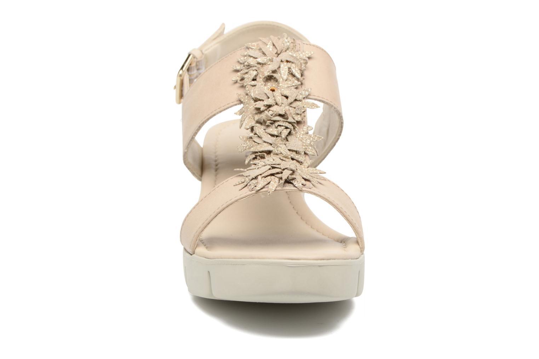 Sandales et nu-pieds The Flexx Emma Beige vue portées chaussures