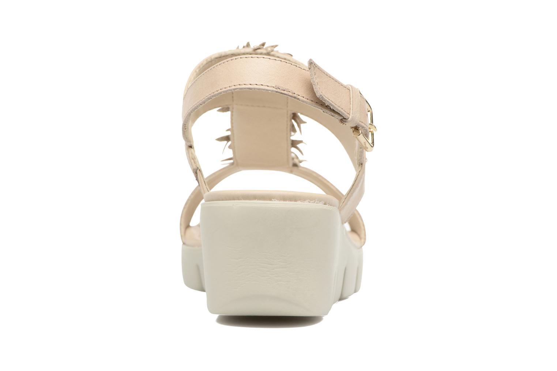 Sandales et nu-pieds The Flexx Emma Beige vue droite