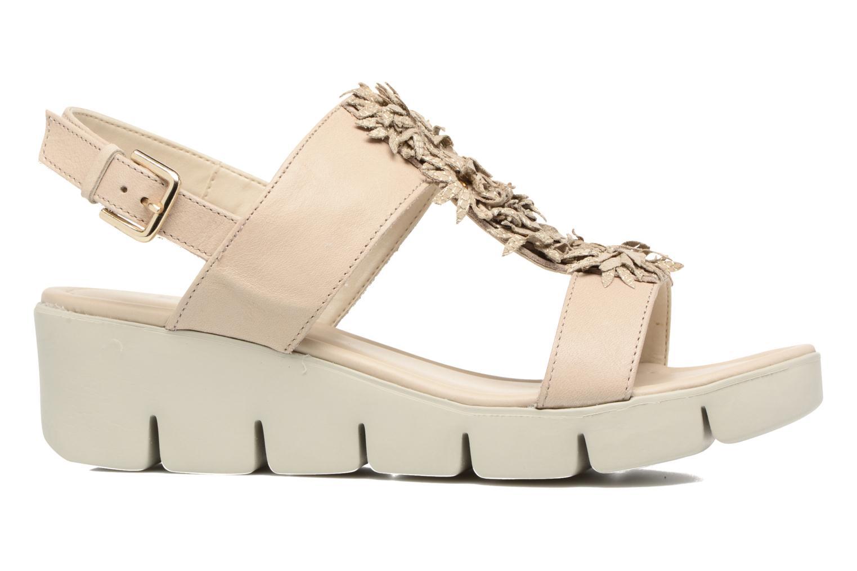 Sandales et nu-pieds The Flexx Emma Beige vue derrière