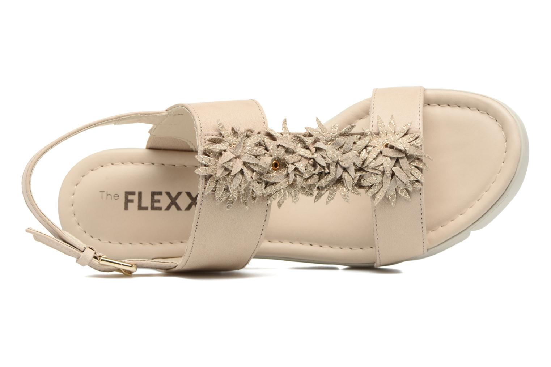 Sandales et nu-pieds The Flexx Emma Beige vue gauche