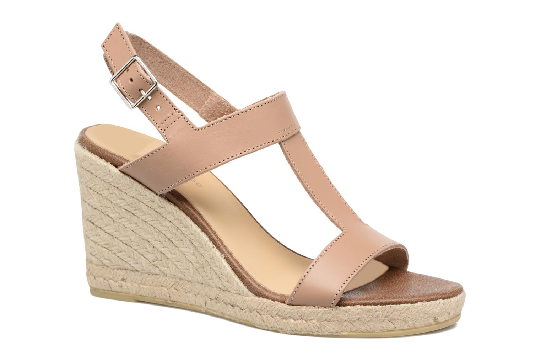 Espadrillos Georgia Rose Louvi Beige detaljeret billede af skoene