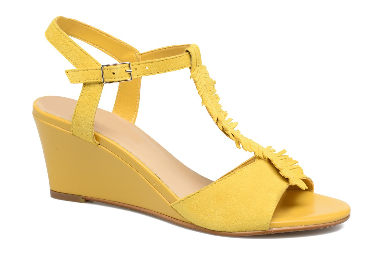 Sandals Georgia Rose Lilifrange Yellow detailed view/ Pair view