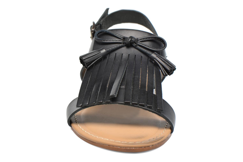 Sandales et nu-pieds Georgia Rose Lupatte Noir vue portées chaussures