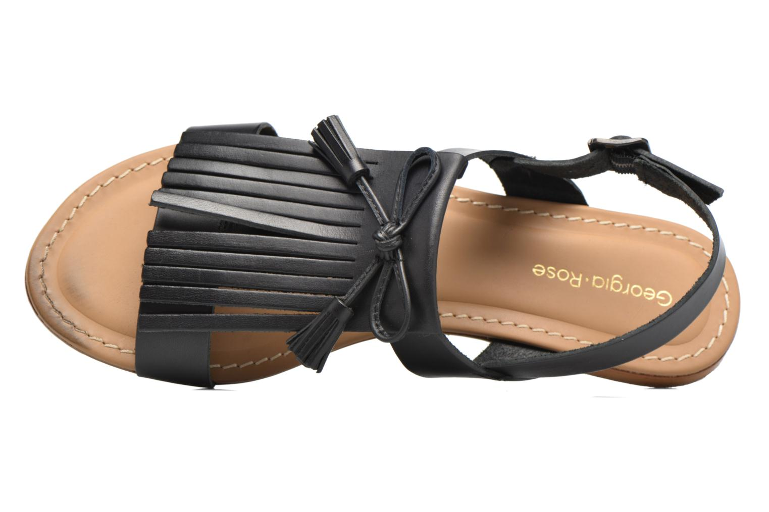 Sandals Georgia Rose Lupatte Black view from the left