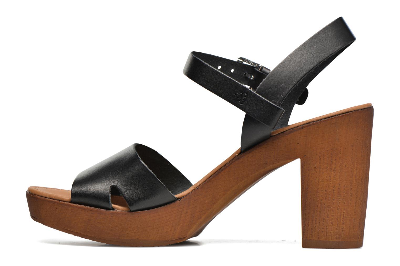 Sandali e scarpe aperte Georgia Rose Dobou Nero immagine frontale