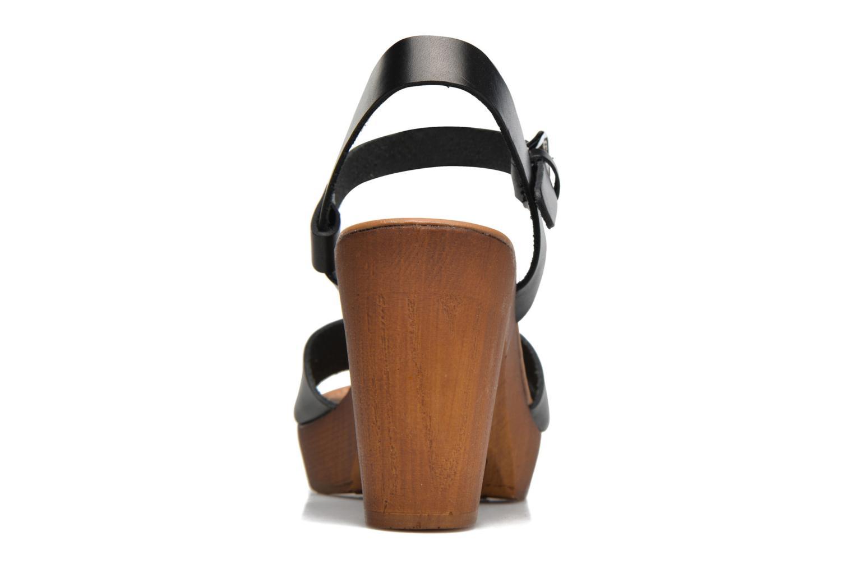 Sandali e scarpe aperte Georgia Rose Dobou Nero immagine destra