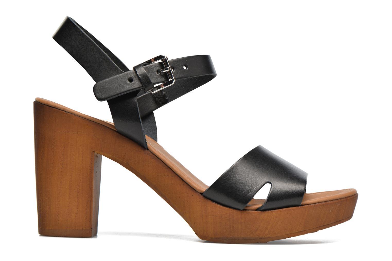 Sandali e scarpe aperte Georgia Rose Dobou Nero immagine posteriore