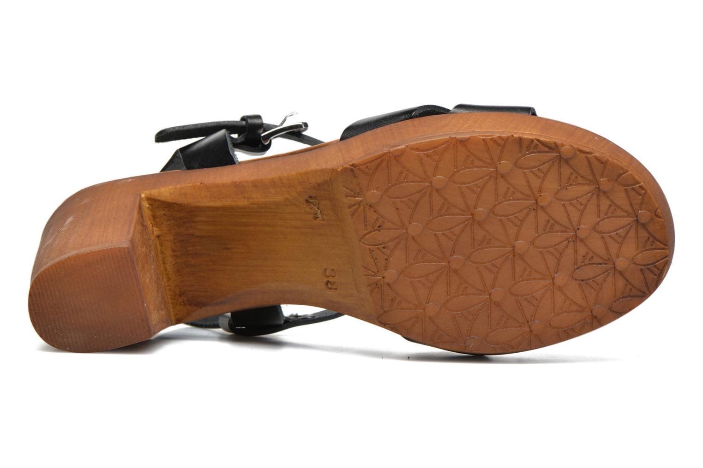 Sandali e scarpe aperte Georgia Rose Dobou Nero immagine dall'alto