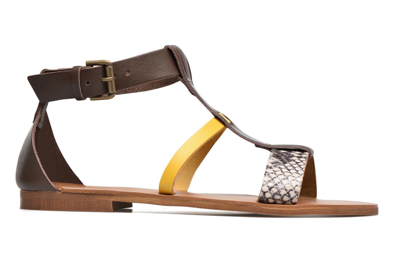 Sandali e scarpe aperte Georgia Rose Dolion Marrone immagine posteriore