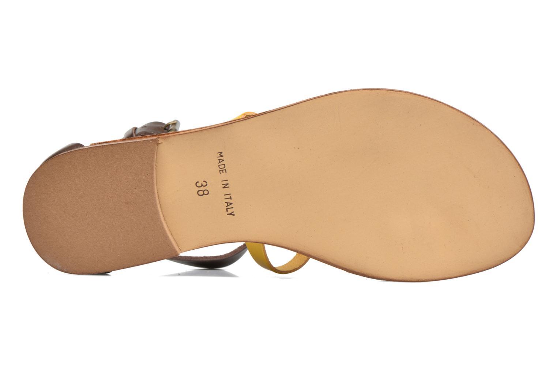 Sandali e scarpe aperte Georgia Rose Dolion Marrone immagine dall'alto