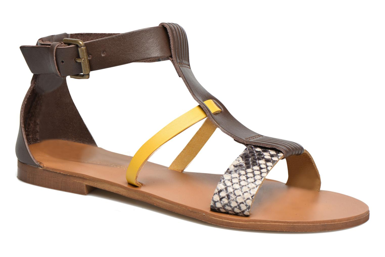 Sandali e scarpe aperte Georgia Rose Dolion Marrone vedi dettaglio/paio