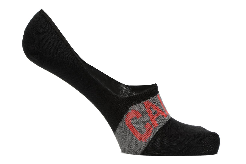 Socken & Strumpfhosen Calvin Klein Chaussettes invisibles BIG LOGO NO-SHOW Coton schwarz detaillierte ansicht/modell