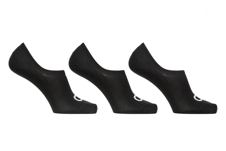 Lot de 3 paires de Chaussettes Invisibles Logo Ck 00 BLACK