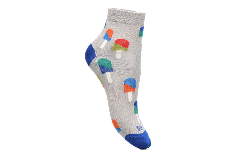 Socks & tights Doré Doré Chaussettes Socquettes Glace Grey detailed view/ Pair view