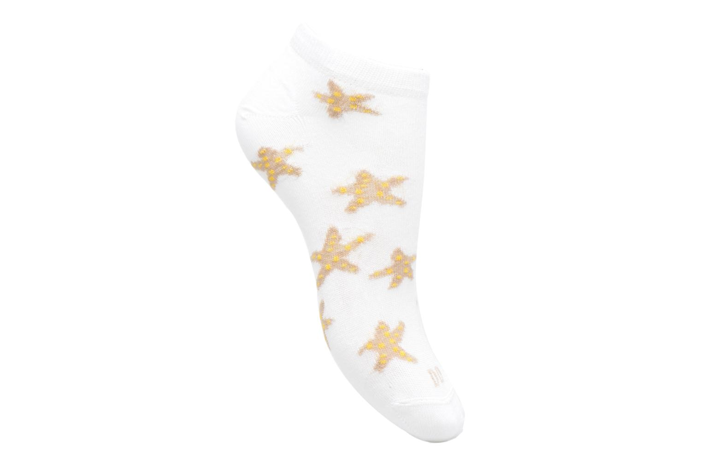Sokken en panty's Doré Doré Chaussettes Sneakers Etoiles Wit detail