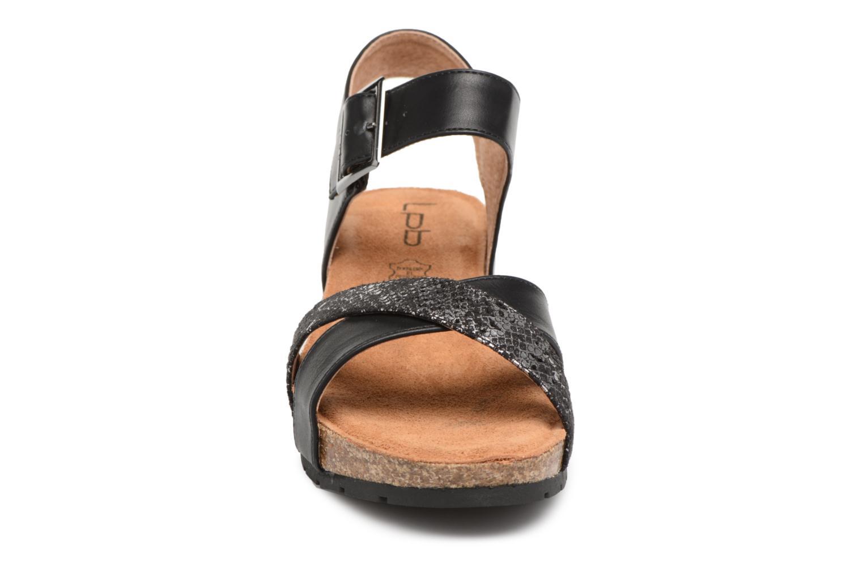 Sandals Les P'tites Bombes Paloma Black model view