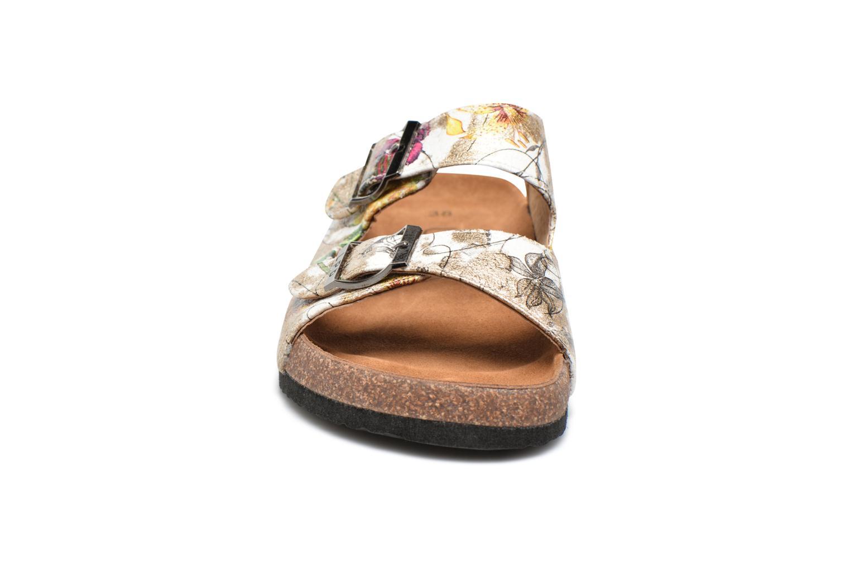 Mules et sabots Les P'tites Bombes Orphee Blanc vue portées chaussures