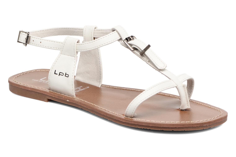 Sandales et nu-pieds Les P'tites Bombes Zhoe Blanc vue détail/paire