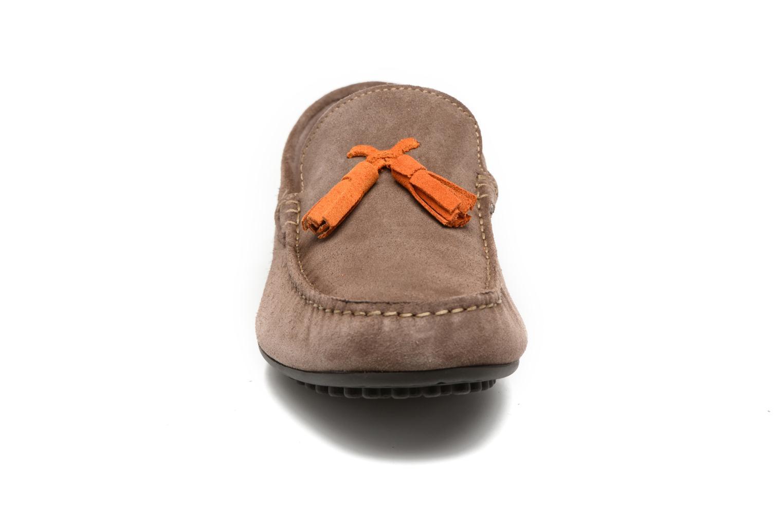 Mocassins Marvin&Co Southampt Beige vue portées chaussures