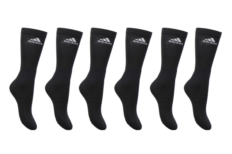 Chaussettes et collants Adidas Performance 3S PER CR HC 6P Noir vue détail/paire