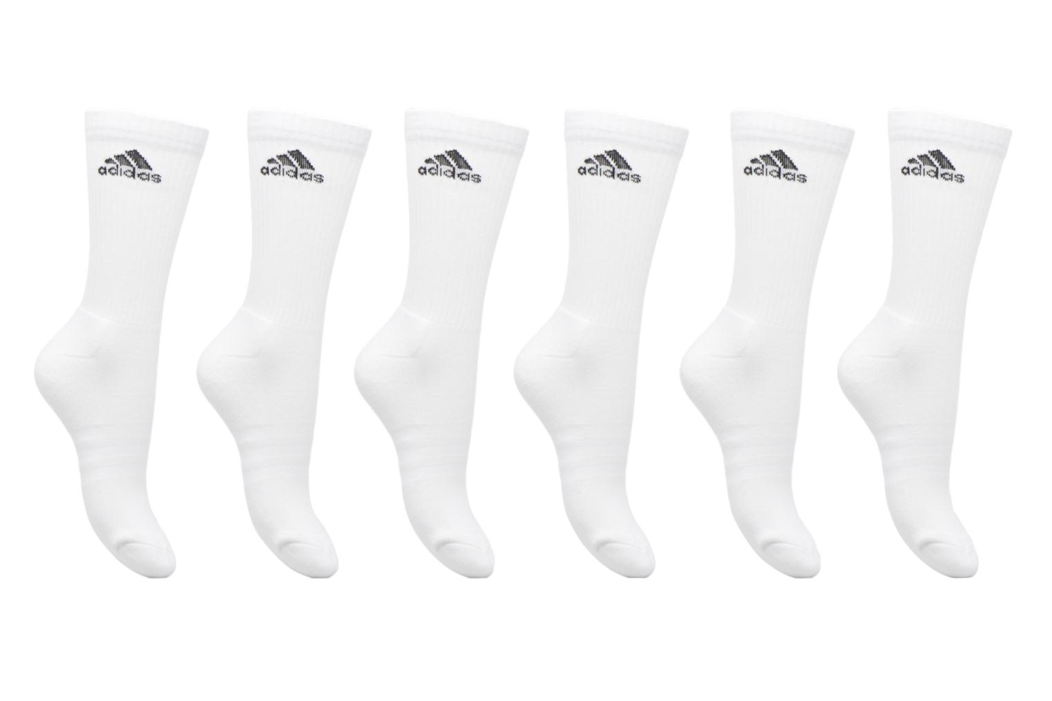 Socks & tights Adidas Performance 3S PER CR HC 6P White detailed view/ Pair view