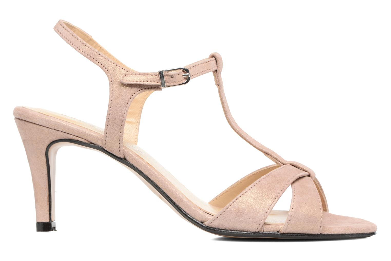 Sandales et nu-pieds Georgia Rose Satine Rose vue derrière