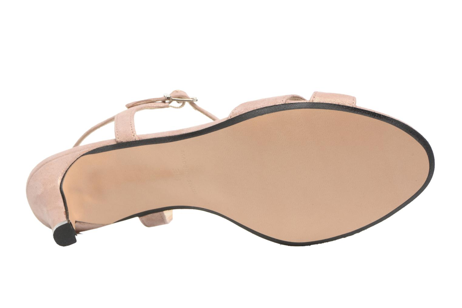 Sandals Georgia Rose Satine Pink view from above