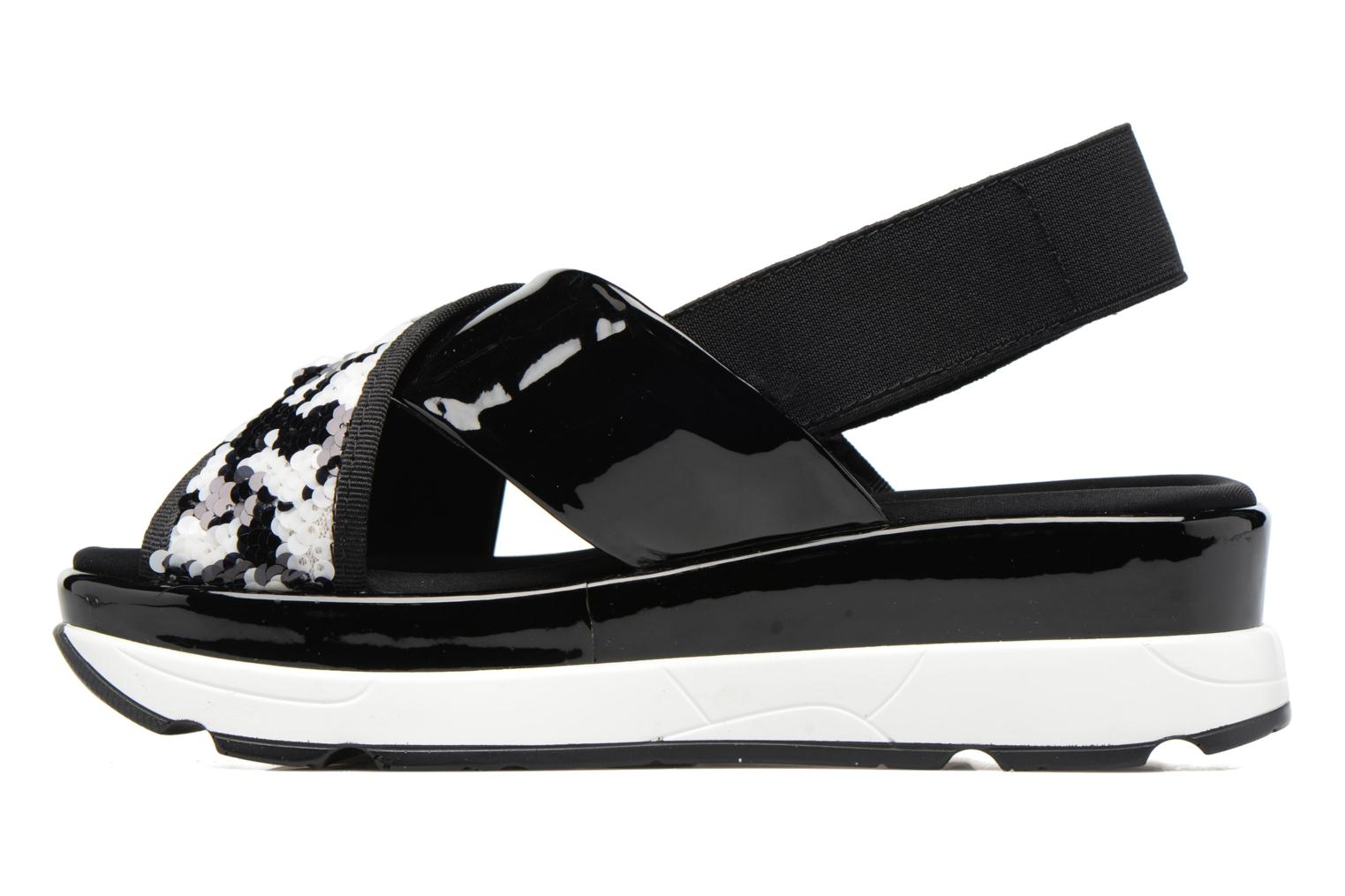 Sandals Sixty Seven Oden 78602 Black front view
