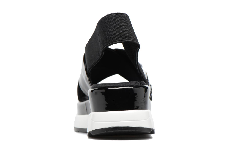 Sandales et nu-pieds Sixty Seven Oden 78602 Noir vue droite
