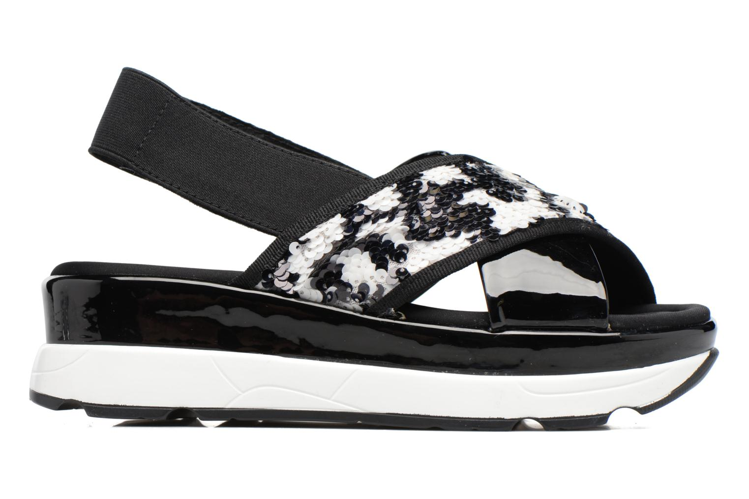 Sandals Sixty Seven Oden 78602 Black back view