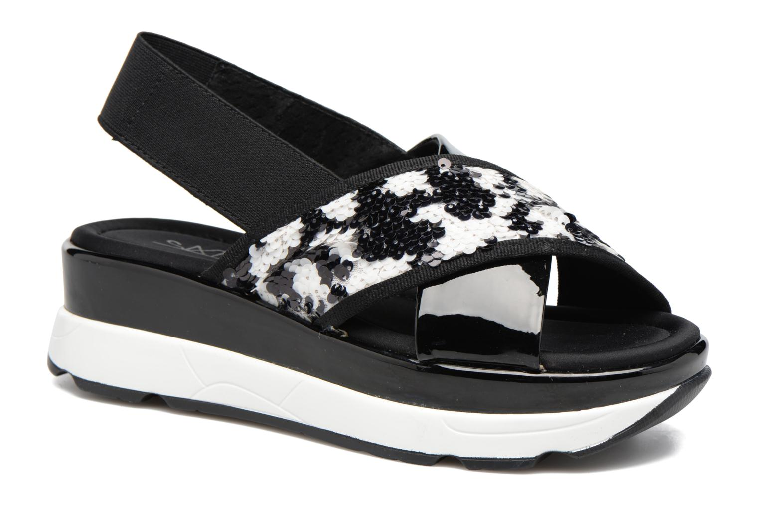 Marques Chaussure femme Sixty Seven femme Oden 78602 Kelsi Negro/Flase Blanco