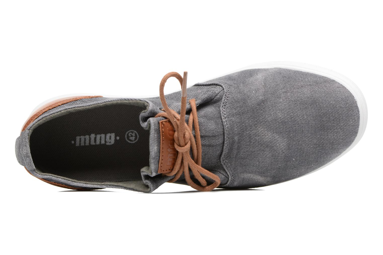 Sneaker MTNG Bambu 84553 grau ansicht von links