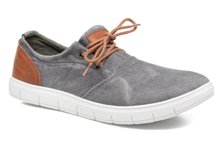 Sneakers MTNG Bambu 84553 Grå detaljeret billede af skoene