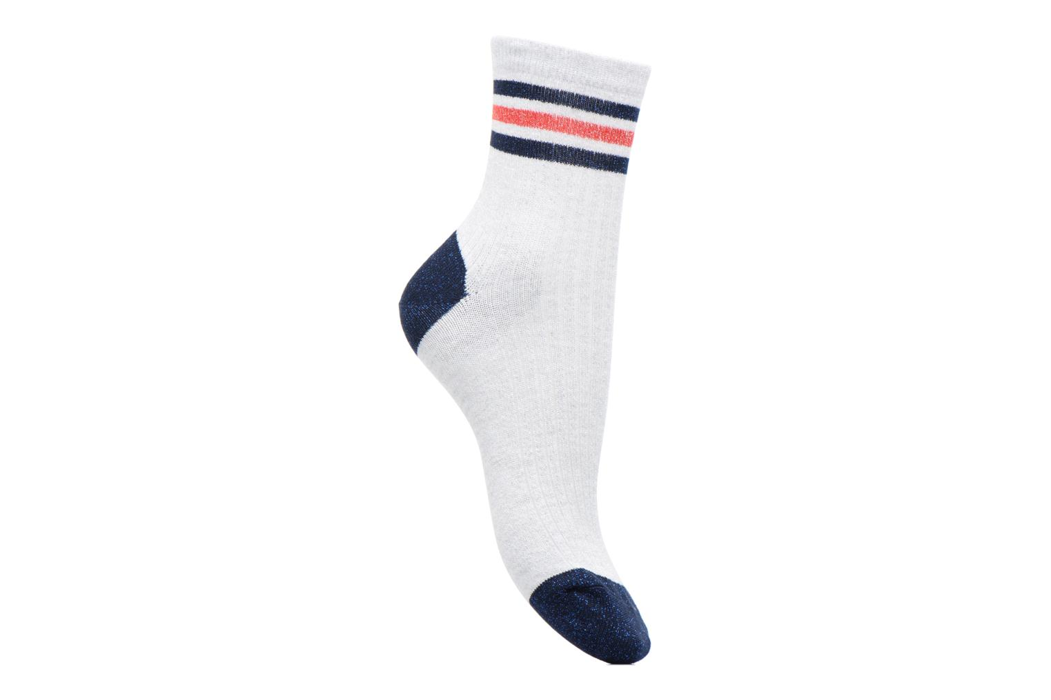 Socks & tights Sarenza Wear Chaussettes lurex Femme Sporty White detailed view/ Pair view