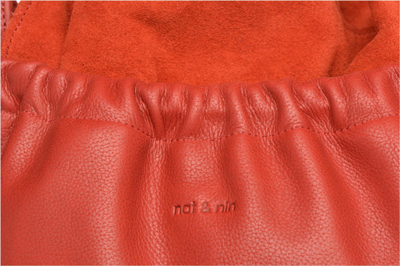 Sacs à main Nat & Nin Marlene Orange vue gauche