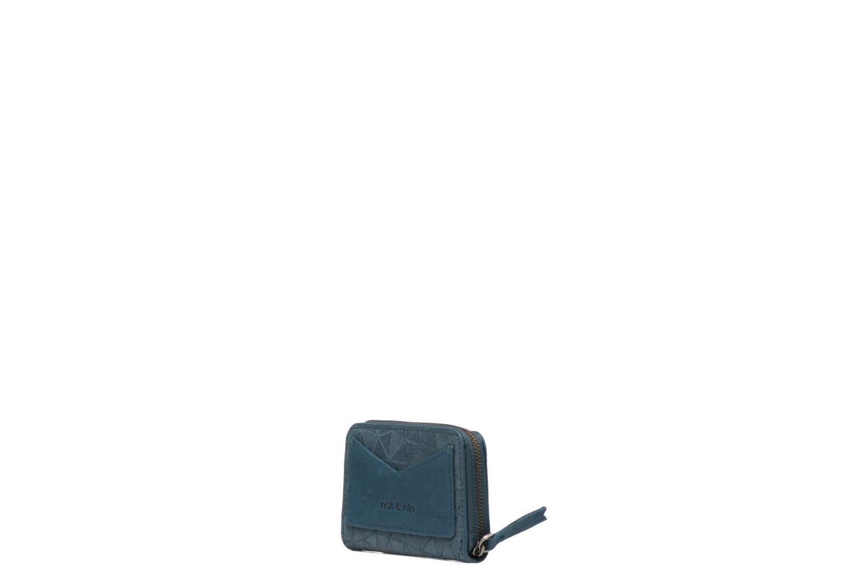 Pelletteria Nat & Nin Pia Azzurro modello indossato