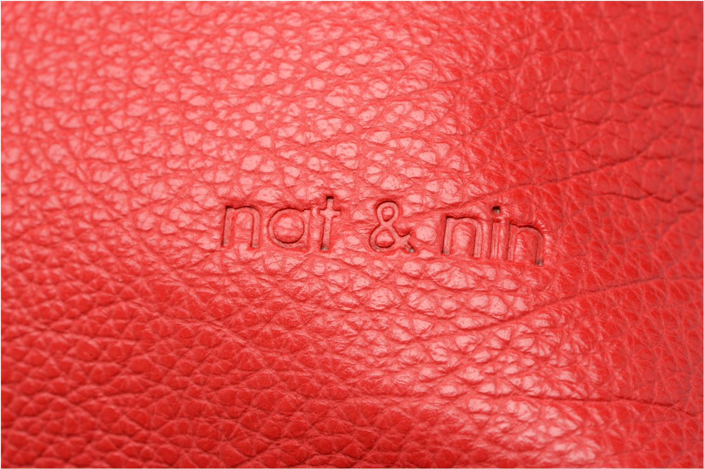 Sacs à main Nat & Nin Aretha Rouge vue gauche
