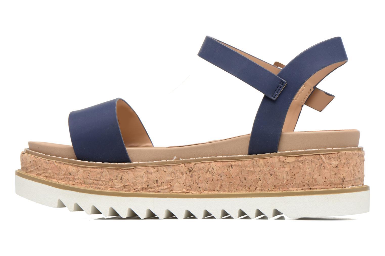Sandalen MTNG Virginia 50914 blau ansicht von vorne