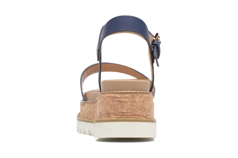Sandali e scarpe aperte MTNG Virginia 50914 Azzurro immagine destra