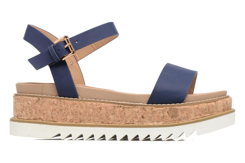 Sandales et nu-pieds MTNG Virginia 50914 Bleu vue derrière
