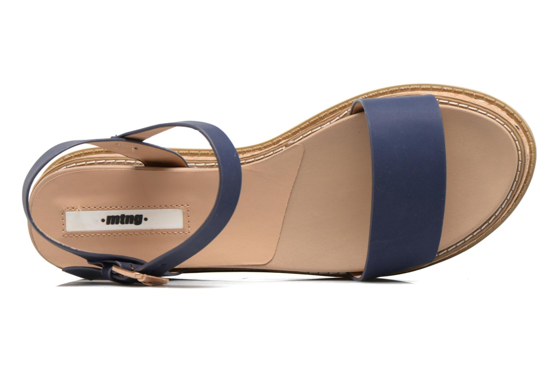 Sandalen MTNG Virginia 50914 blau ansicht von links
