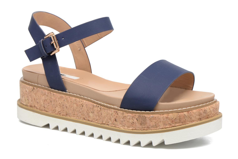 Sandaler MTNG Virginia 50914 Blå detaljerad bild på paret