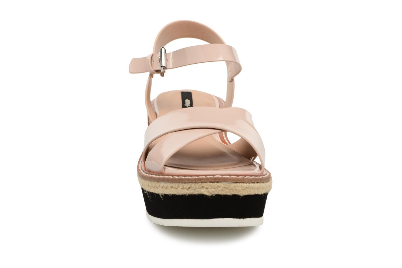 Sandalen MTNG Alexandra 55409 beige schuhe getragen