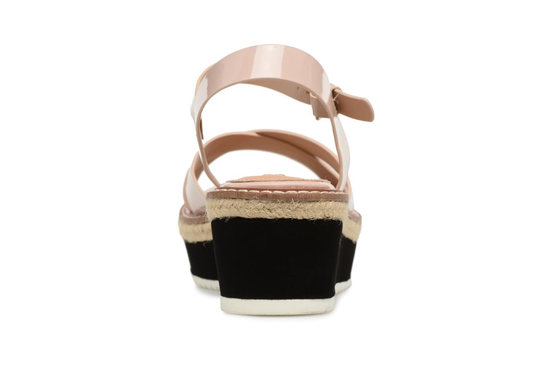 Sandales et nu-pieds MTNG Alexandra 55409 Beige vue droite